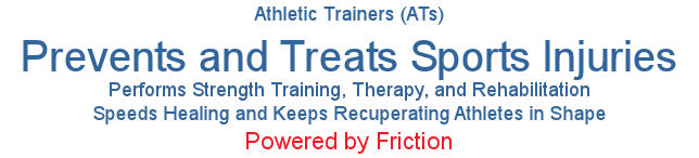 athletic trainers, ATs, sports injuries, therapeutic exercises