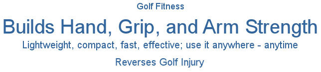 Golf Fitness, Great Golf Exercises, Golf Training Aid